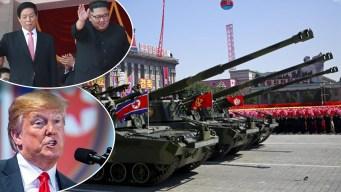 Norcorea festeja su 70 aniversario y Trump los aplaude