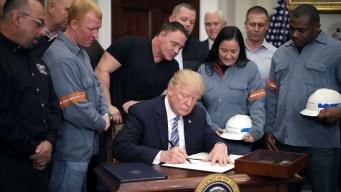 Trump desata guerra comercial con tasa a importaciones