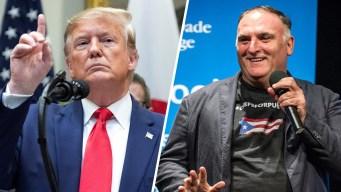 Chef José Andrés hará lanzamiento en juego al que irá Trump