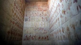 Revelan los secretos de tumba egipcia de 4,300 años