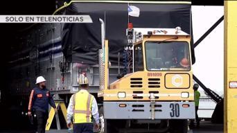 Llegan a Puerto Rico tres mega generadores móviles
