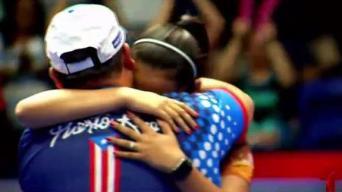 Adriana gana el campeonato de la Copa Panamericana