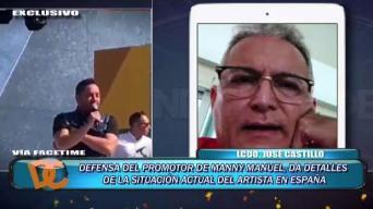 Angustiado Manny Manuel tras desaire vivido en España