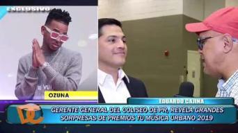 Choliseo ofrece adelanto de los Premios Tu Música Urbano