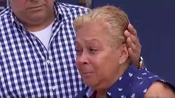 Desconsolada, viuda de hombre arrollado en Río Piedras