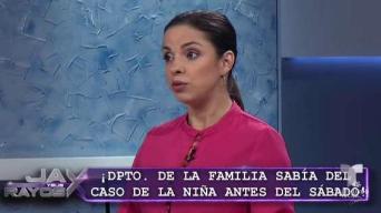 """Familia falló malamente en caso de menor quemada"""