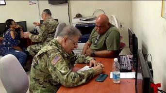 Guardia Nacional realiza clínicas de salud mental y física en Yabucoa