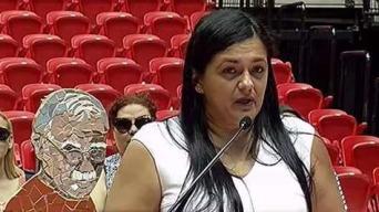 Hija de Oscar López lo defiende ante críticas