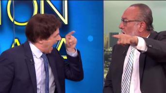 Pabón Roca y Díaz Olivo discuten en intenso debate