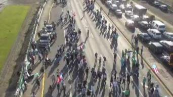 Protestan ante el inicio de vista congresional en Puerto Rico
