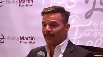 Ricky Martin firme en su lucha contra la Trata Humana