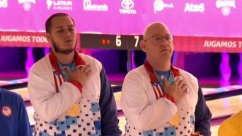 Selección de Bolos Masculino gana su primera medalla de oro en los Panamericanos