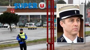 Terrorismo en supermercado: muere policía, 2 arrestos