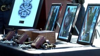 Realizan homenaje póstumo para perros héroes