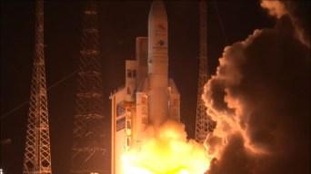 Primera misión europea a Mercurio despega con éxito