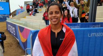 Maricarmen Rivera obtuvo bronce en Surf