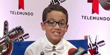 Jonael regresa a La Voz Kids