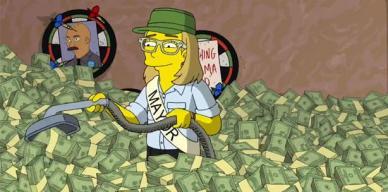 Aparece nuevamente Carmen Yulín en Los Simpsons