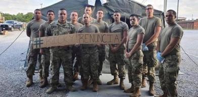 En líos militares boricuas por exigir renuncia a Rosselló