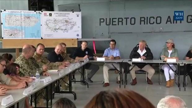 [TLMD - PR] Lo que dijo Trump a su llegada a Puerto Rico