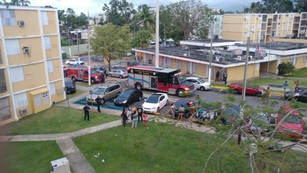 Incendio consumió apartamento en Río Piedras