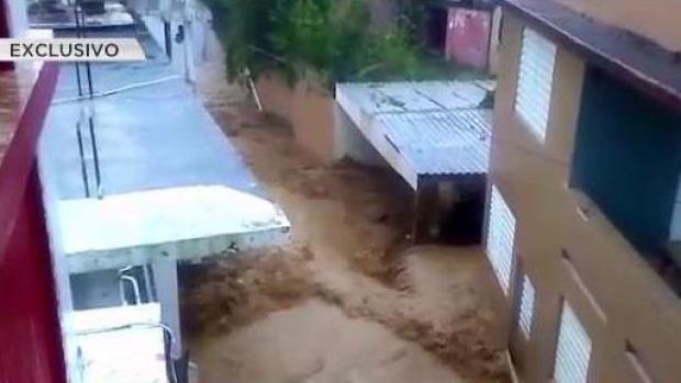 [TLMD - PR] Impresionantes inundaciones afectaron residencias de Jayuya