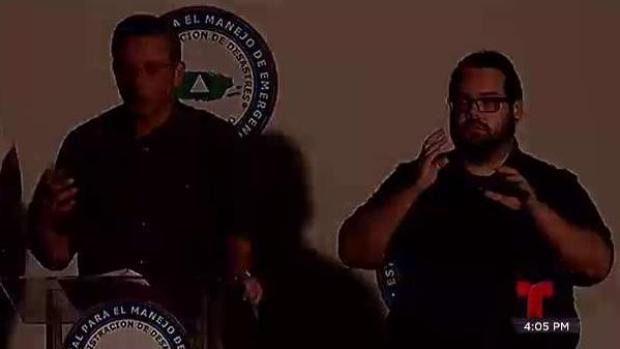 [TLMD - PR] Apagón interrumpe conferencia de prensa del Gobernador