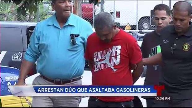 [TLMD - PR] Arrestan dúo que asaltaba gasolineras