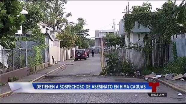 [TLMD - PR] Arrestan sospechoso de asesinato en Caguas