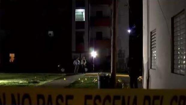 Asesinato y herido de bala en residencial Lloréns Torres
