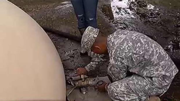 [TLMD - PR] Así es cómo los militares purifican agua en Guajataca