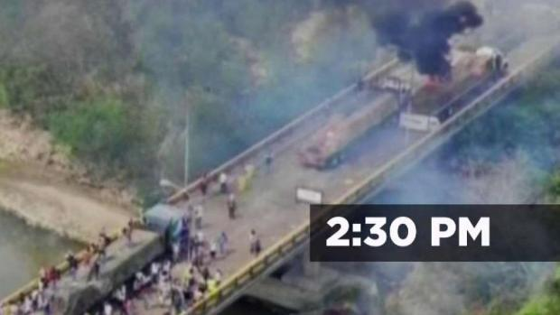 [TLMD - MIA] Así fue el minuto a minuto de la violenta jornada en la frontera de Venezuela