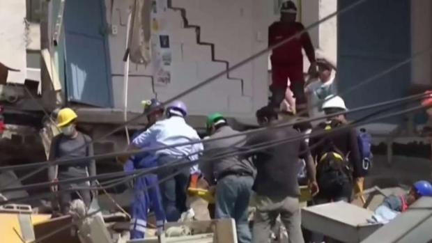 [TLMD - MIA] Aumentan las víctimas tras el terremoto que golpeo México