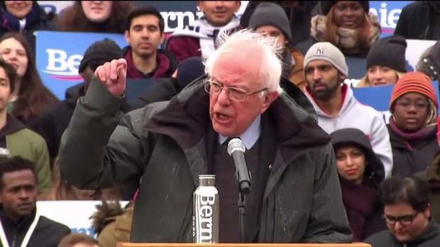 [TLMD - PR] Bernie Sanders oficializa su campaña presidencial