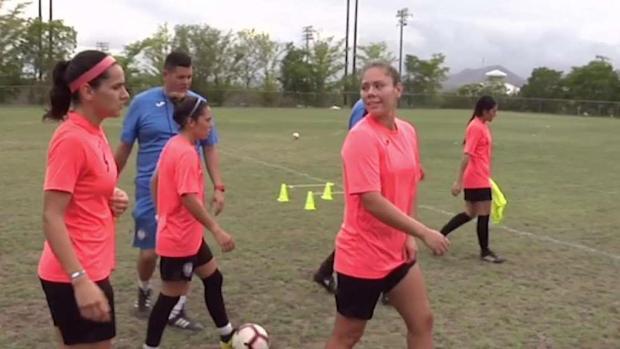 [TLMD - PR] Boricua hace su debut con la Selección de Fútbol Femenino de Puerto Rico