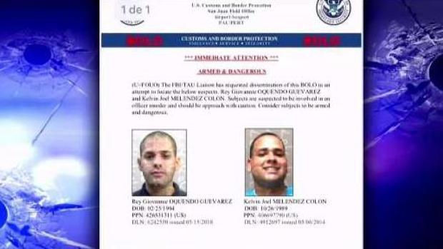 [TLMD - PR] Buscan a duo relacionado a asesinato de policía