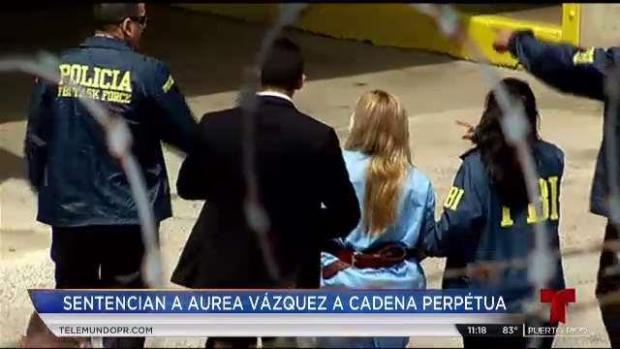 [TLMD - PR] Aliviada la familia Anhang por cadena perpetua para Áurea Vázquez