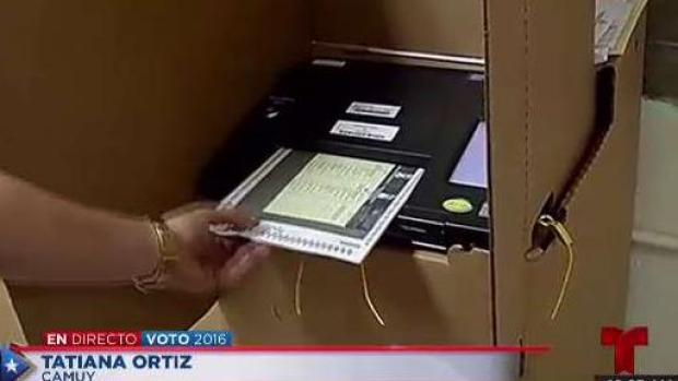 [TLMD - PR] Captamos momento en que elector inserta papeleta de más