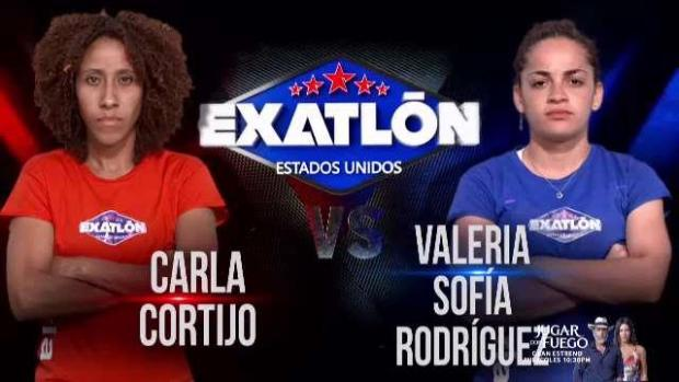 Dos boricuas se enfrentan en el primer episodio de Exatlón