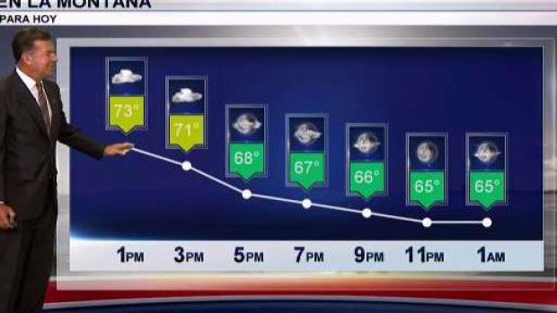 [TLMD - PR] Comienzan a bajar las temperaturas en la Isla