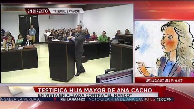 [TLMD - PR] Contrainterrogatorio a hija de Ana Cacho: Parte 1