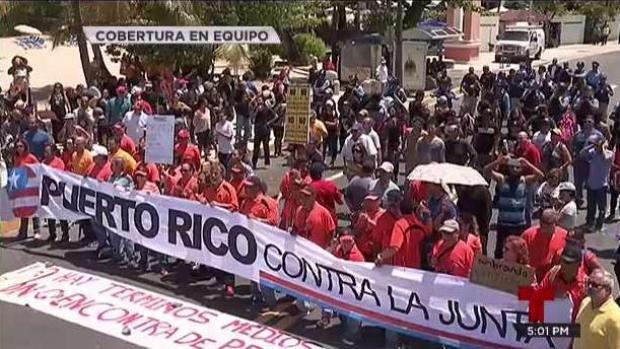 [TLMD - PR] Culmina caldeada protesta contra la JCF en Condado