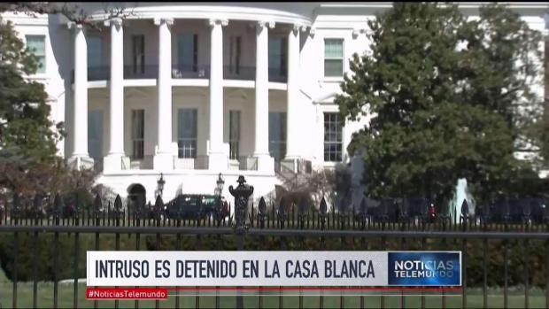 Detenido intruso mientras Trump dormía en la Casa Blanca