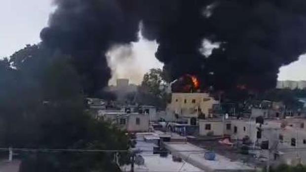 [TLMD - LV] Dominicana atiende a heridos por explosión