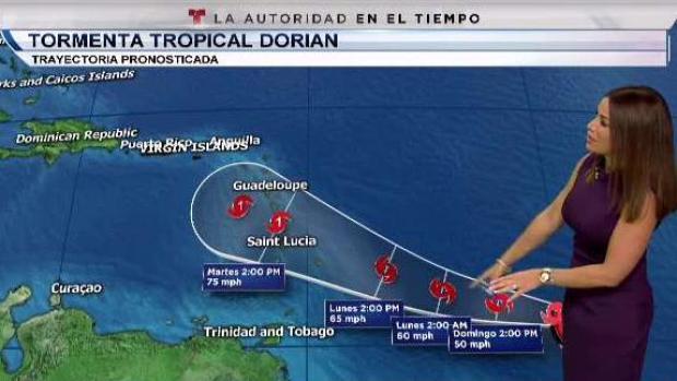 [TLMD - PR] Dorian podría pasar por el sur de Puerto Rico como huracán categoría 1