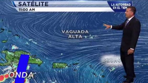Onda tropical provocará actividad de lluvia en la región