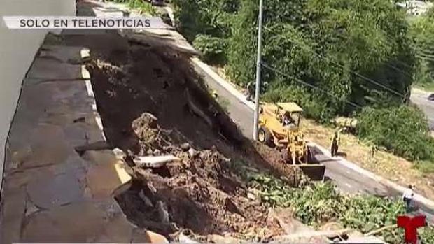 El huracán María sigue provocando daños en Puerto Rico