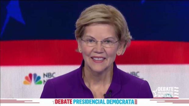 """Elizabeth Warren defiende sus planes """"ambiciosos"""""""