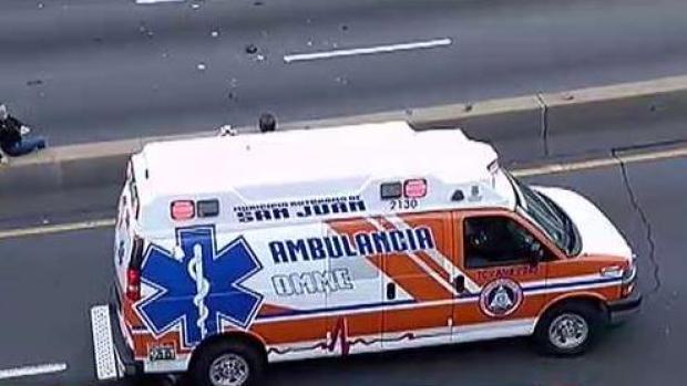 [TLMD - PR] En condición grave hombre que chocó en su motora