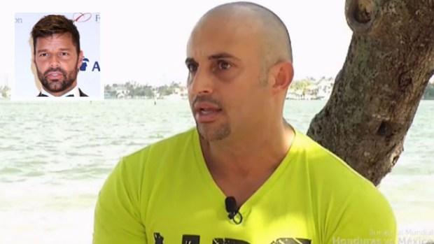Hermano de Ricky Martin sale de Puerto Rico gracias al artista